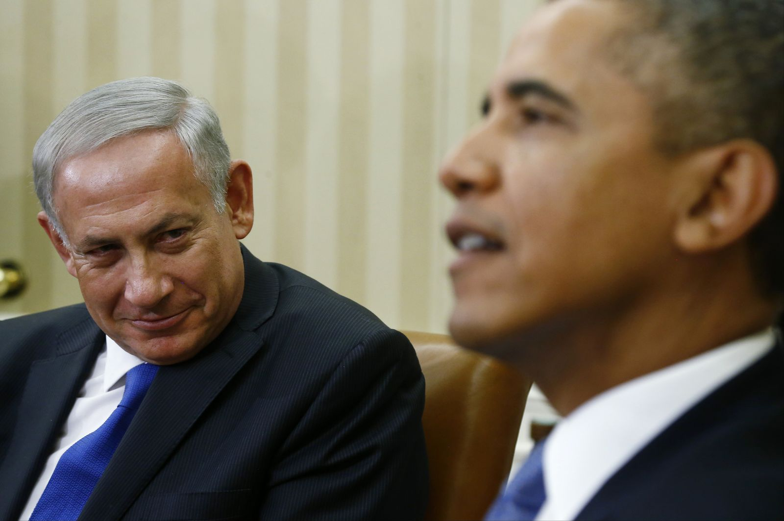 Benjamin Netanyahu/ Barack Obama