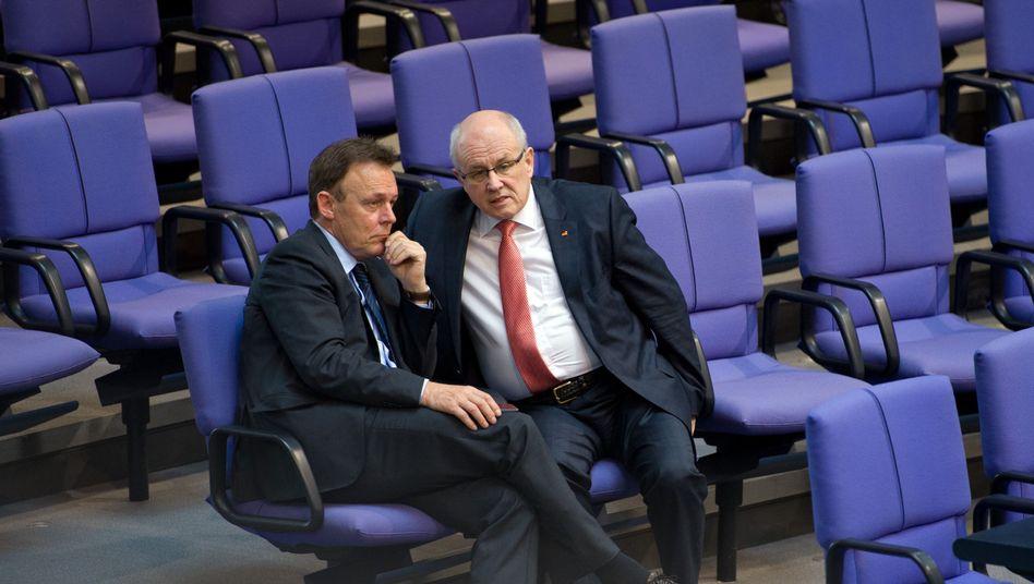 Fraktionschefs Oppermann, Kauder: Neue Regeln für den Wechsel
