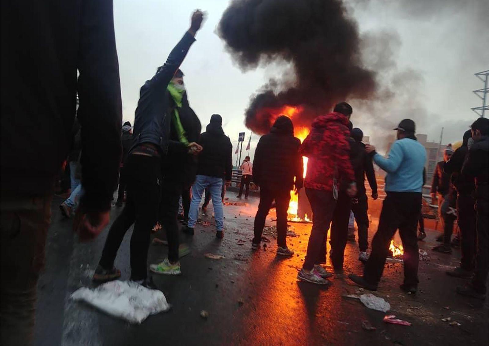 Iran/ Protests