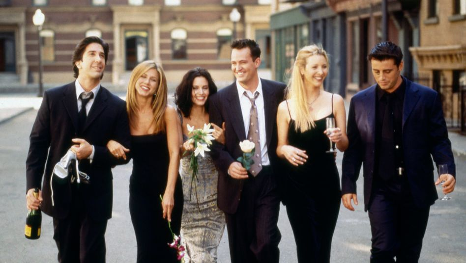 """Friends"", damals in Staffel 6"