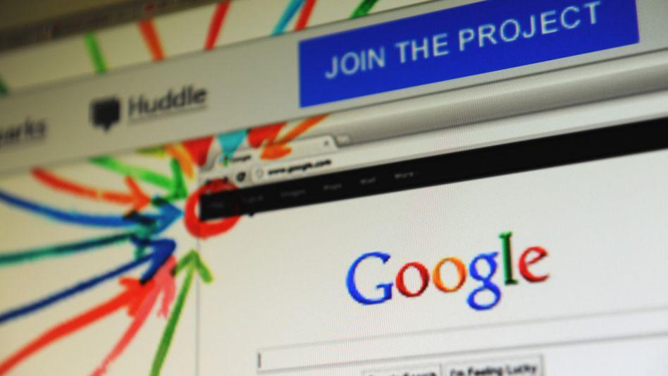"""Google-Seite: """"Lieber Herr Page"""""""