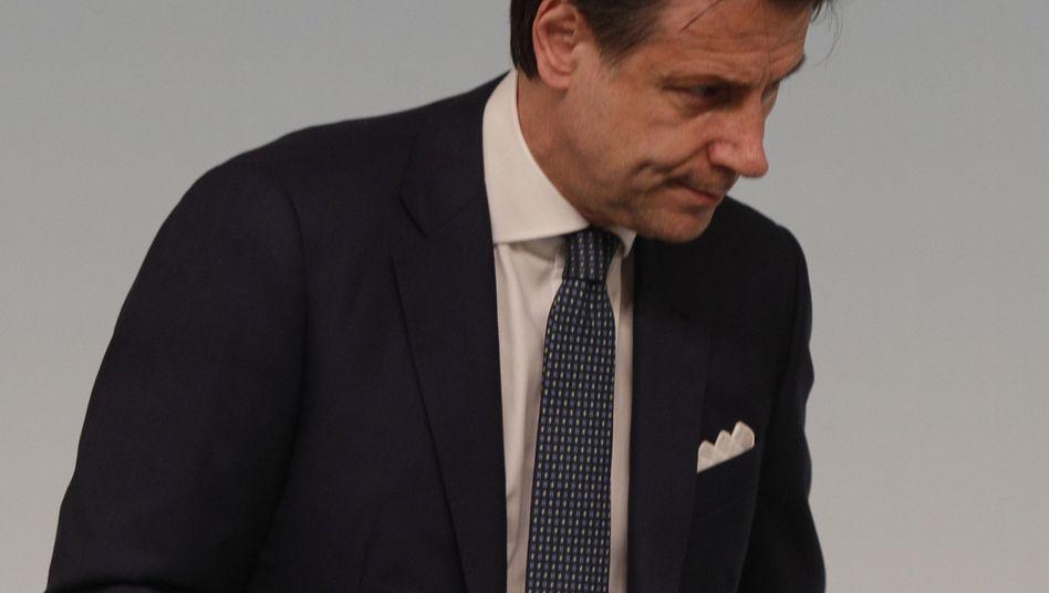 Italienischer Premier Giuseppe Conte