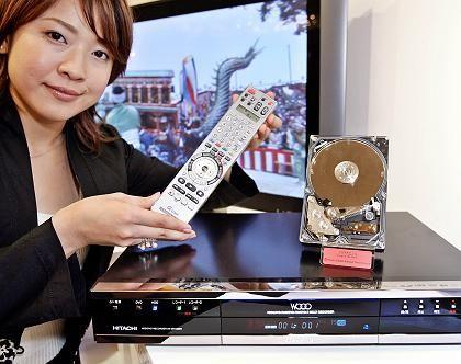 Hitachi-Festplattenrecorder: Hollywood bremst kräftig
