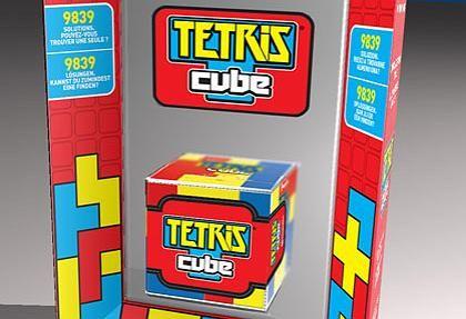 Tetris Cube: Räumliches Denkspiel, mit dem sich sogar Einzelspieler vergnügen können