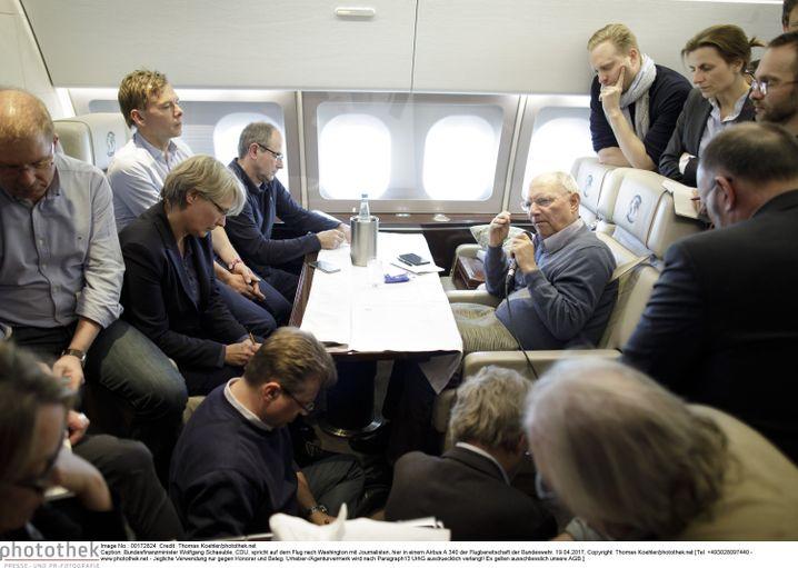 """Währungspolitiker Schäuble: """"Ich muss nicht mehr in jede Schlacht ziehen"""""""