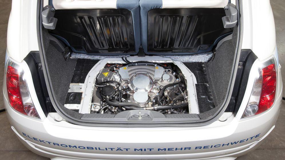 Neuer Range Extender: Strom aus der Ersatzradmulde