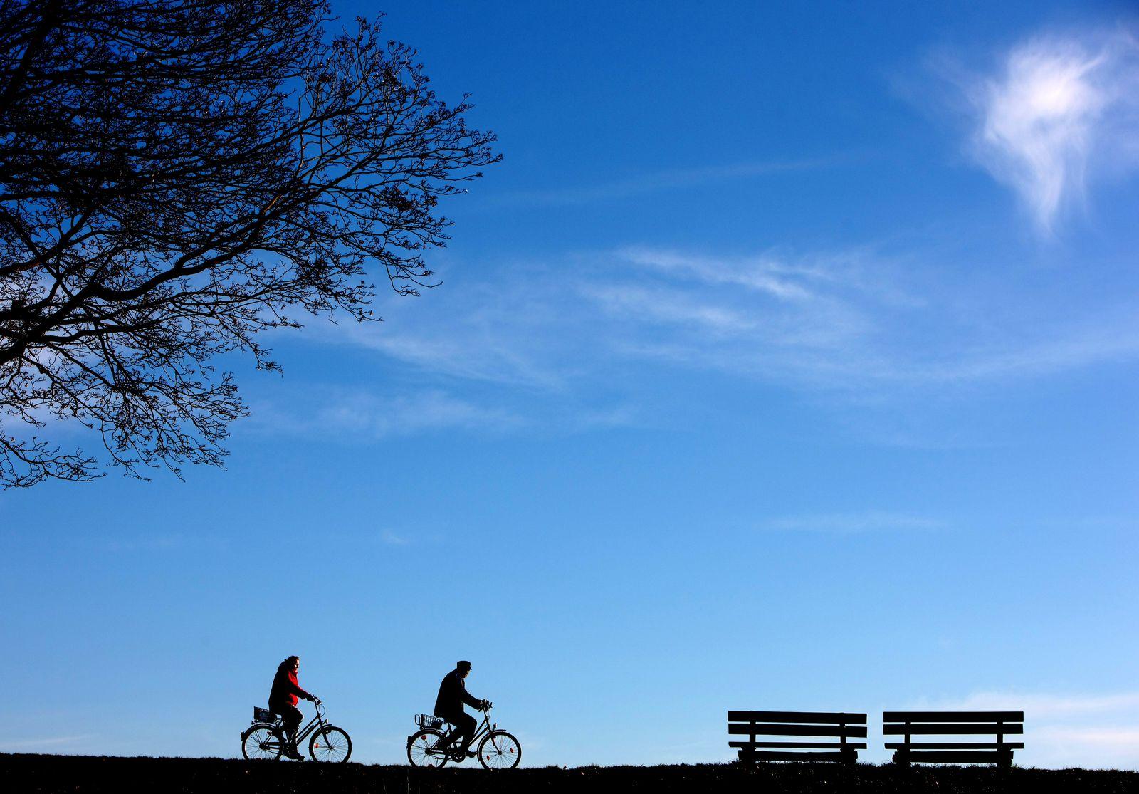 Winter macht Pause - Radfahren statt Skifahren