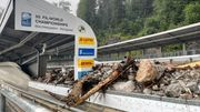 Bob- und Rodelbahn am Königssee zerstört