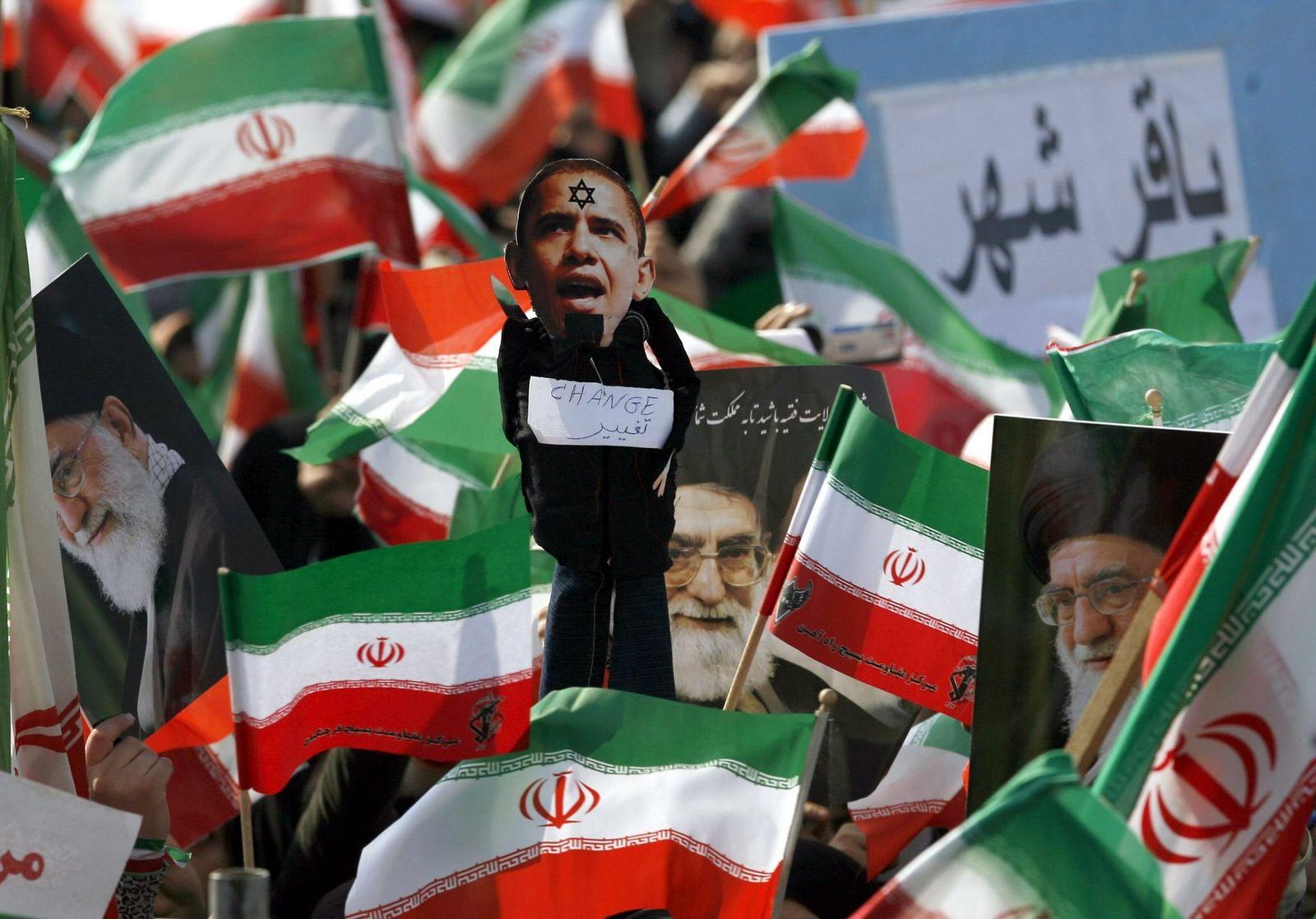 Feiern zum 31. Jahrestag der Islamischen Revolution