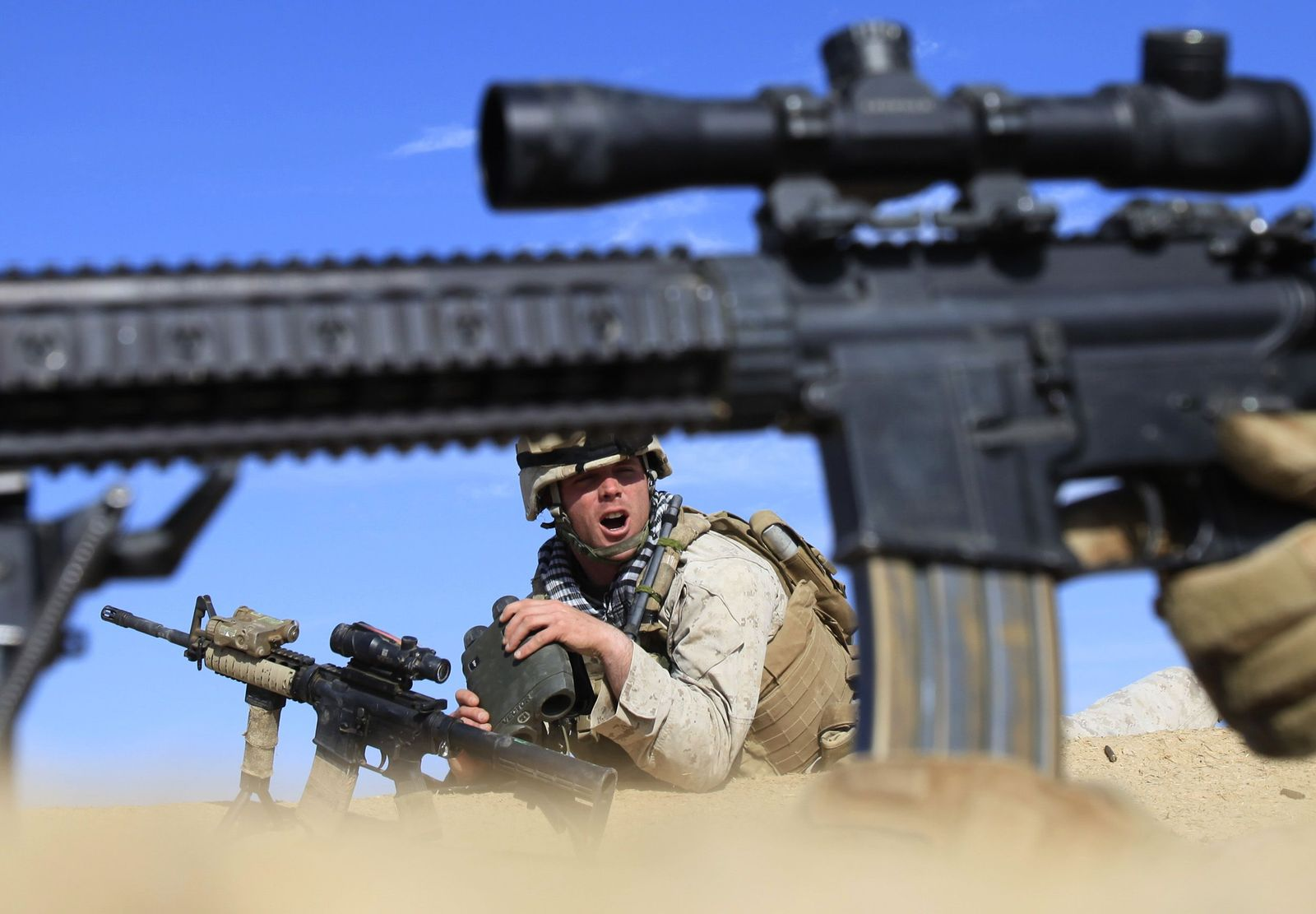 Großoffensive / Taliban / Afghanistan / Marjah