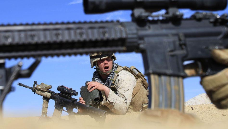 US-Soldaten bei der Februar-Offensive in Afghanistan: Razzia mit tragischem Ausgang