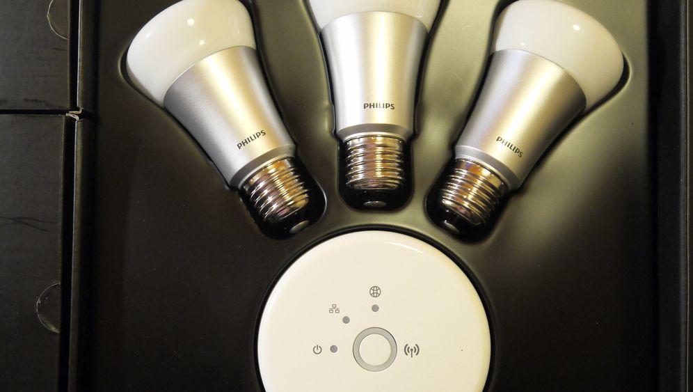 Philips hue: So bunt leuchten die W-Lan-Lampen