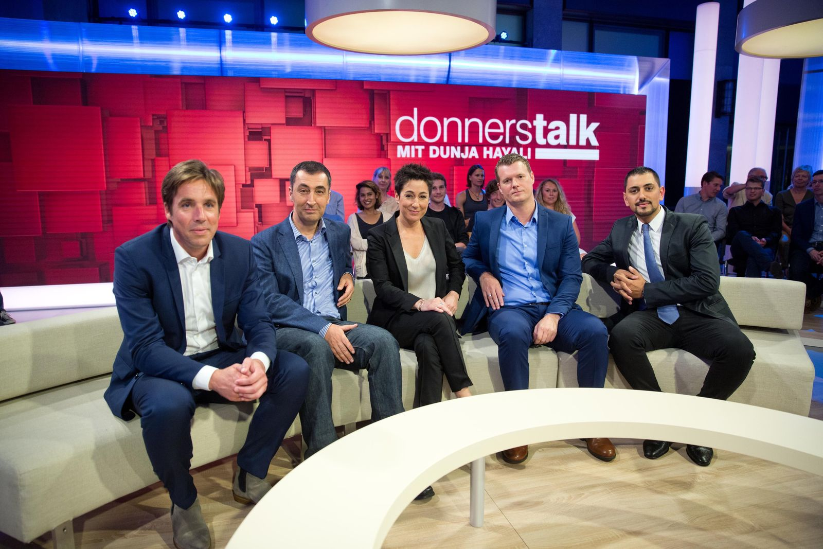 "Dunja Hayali / ""Donnerstalk"" / ZDF"