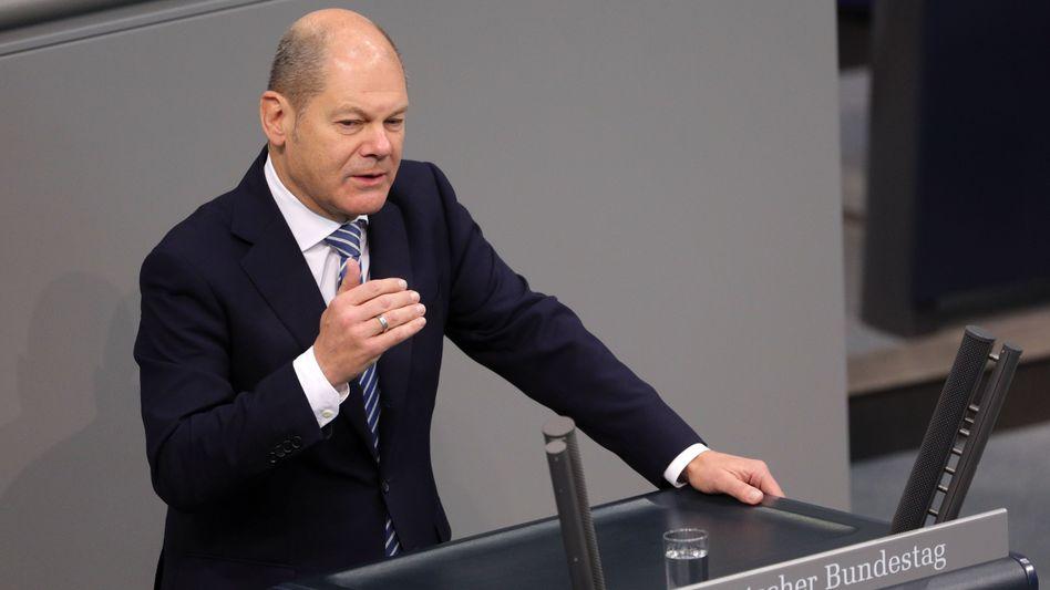 """Olaf Scholz: """"Das hat die Sozialdemokratische Partei nicht verdient"""""""