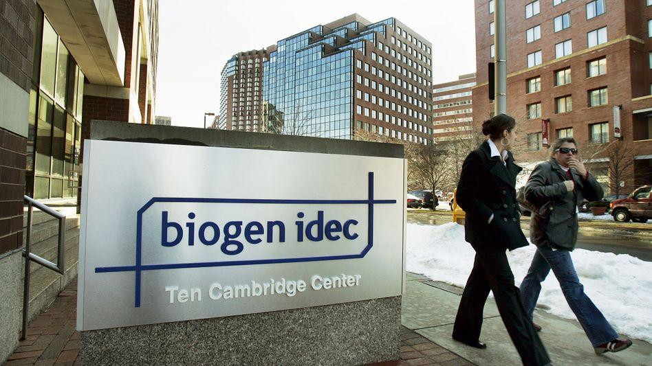 Hersteller Biogen Idec: Das Unternehmen produziert den Antikörper Tysabri, der bei MS-Kranken schwere Nebenwirkungen auslösen kann
