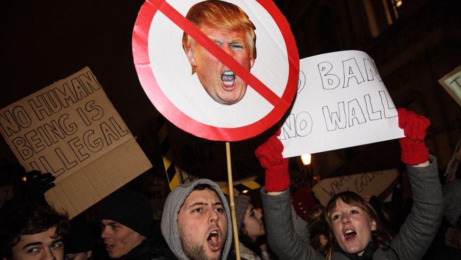 Anti-Trump-Demonstration in London