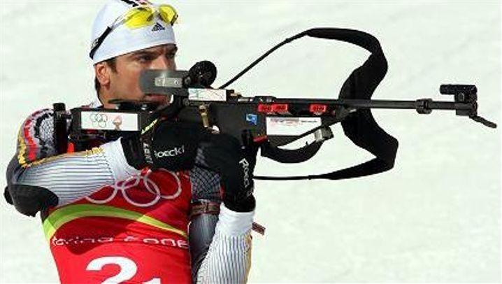 Biathlon-Staffel: Deutsche Gold-Mischung