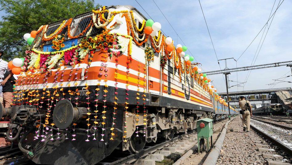 Gatimaan Express in Neu-Delhi