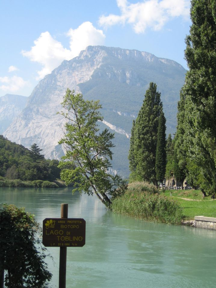 Lago di Toblino im Valle dei Laghi: Geister über dem See
