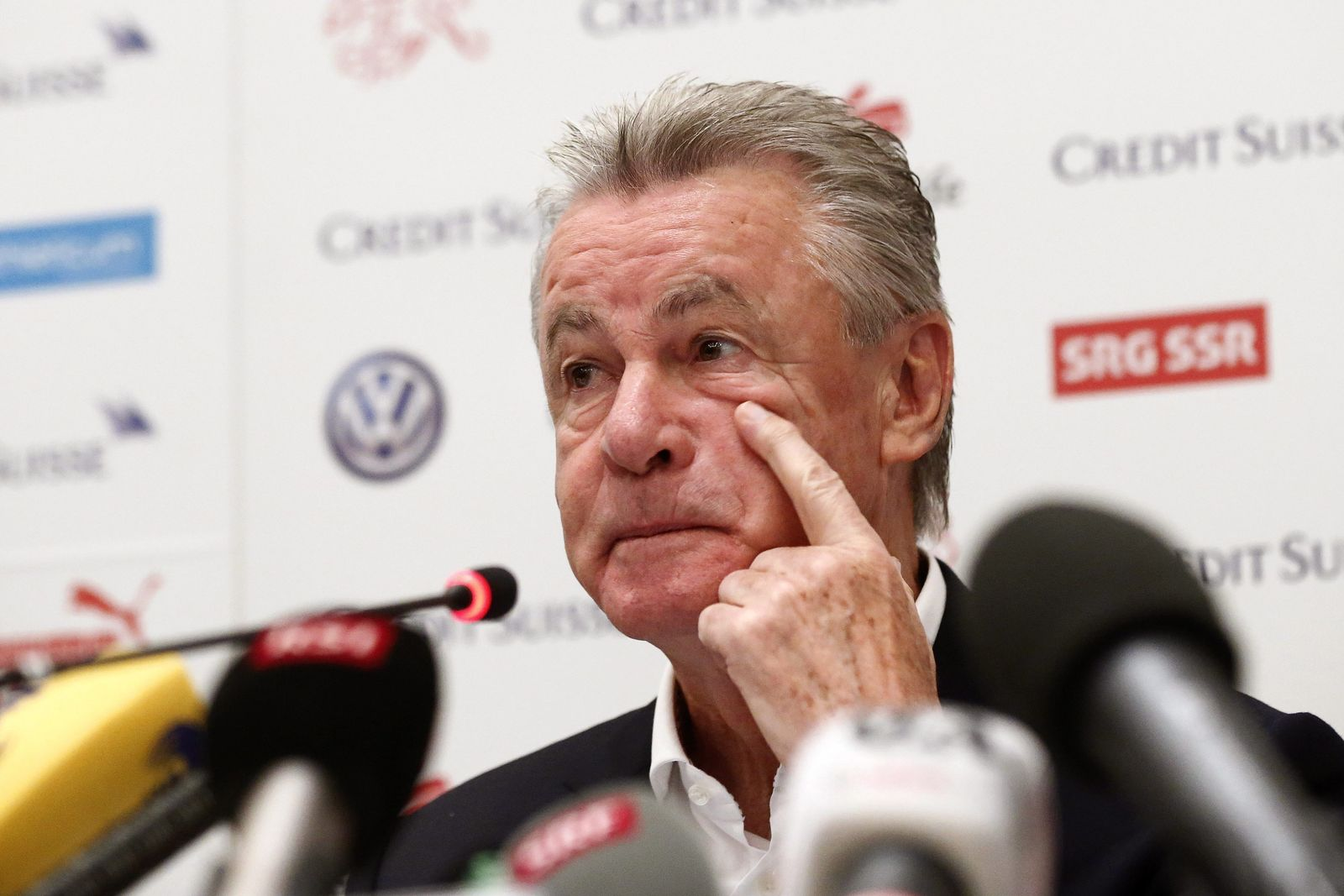 World Cup 2014 - Switzerland press conference