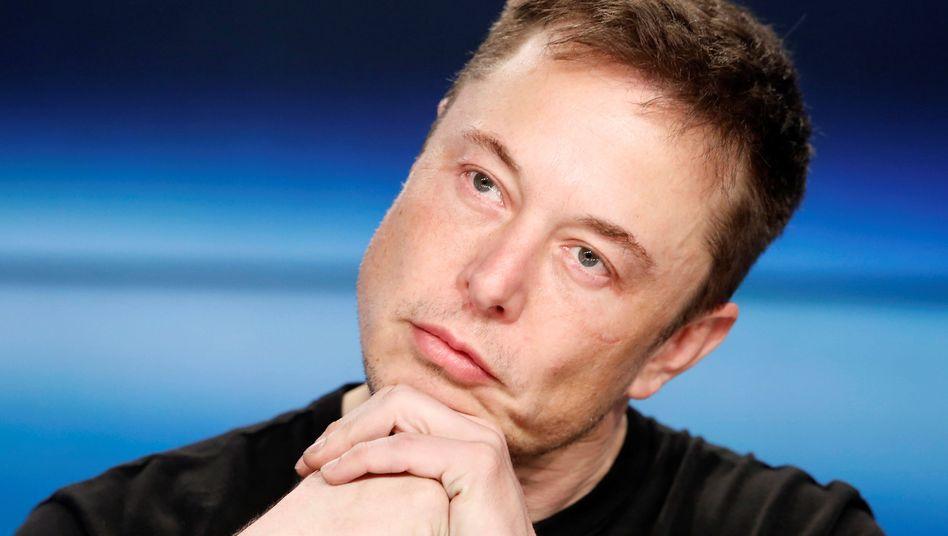 Tech-Pionier und Teilzeit-Griesgram Elon Musk