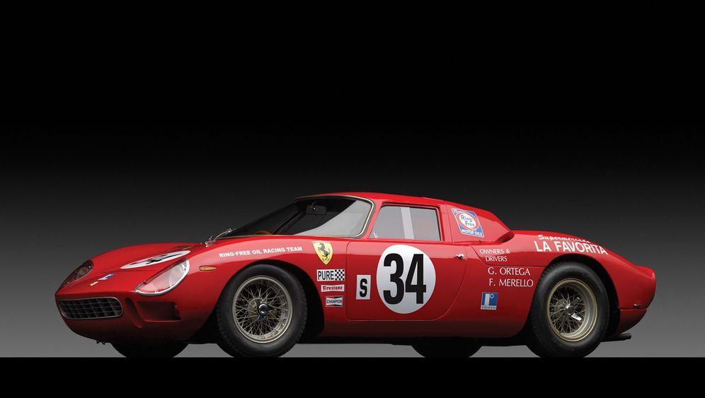 Auktion Ferrari 250 LM: Rarität in Rot