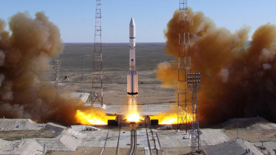 """Weltraumbahnhof in Baikonur: """"Es geht nicht um bemannte Raumfahrt"""""""