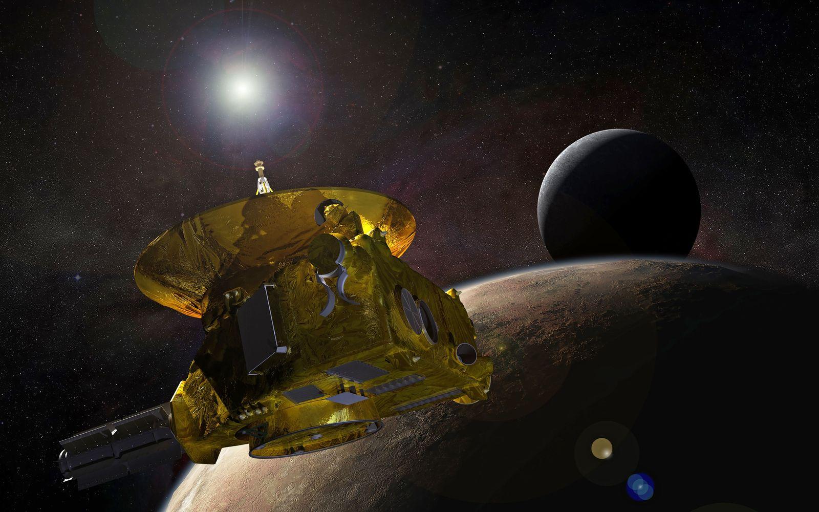 EINMALIGE VERWENDUNG NASA New Horizons/ Ultima Thule