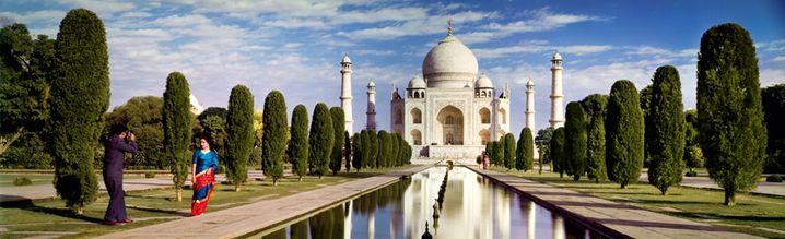 Taj Mahal, Indien 1964 by Norman C. Kerr