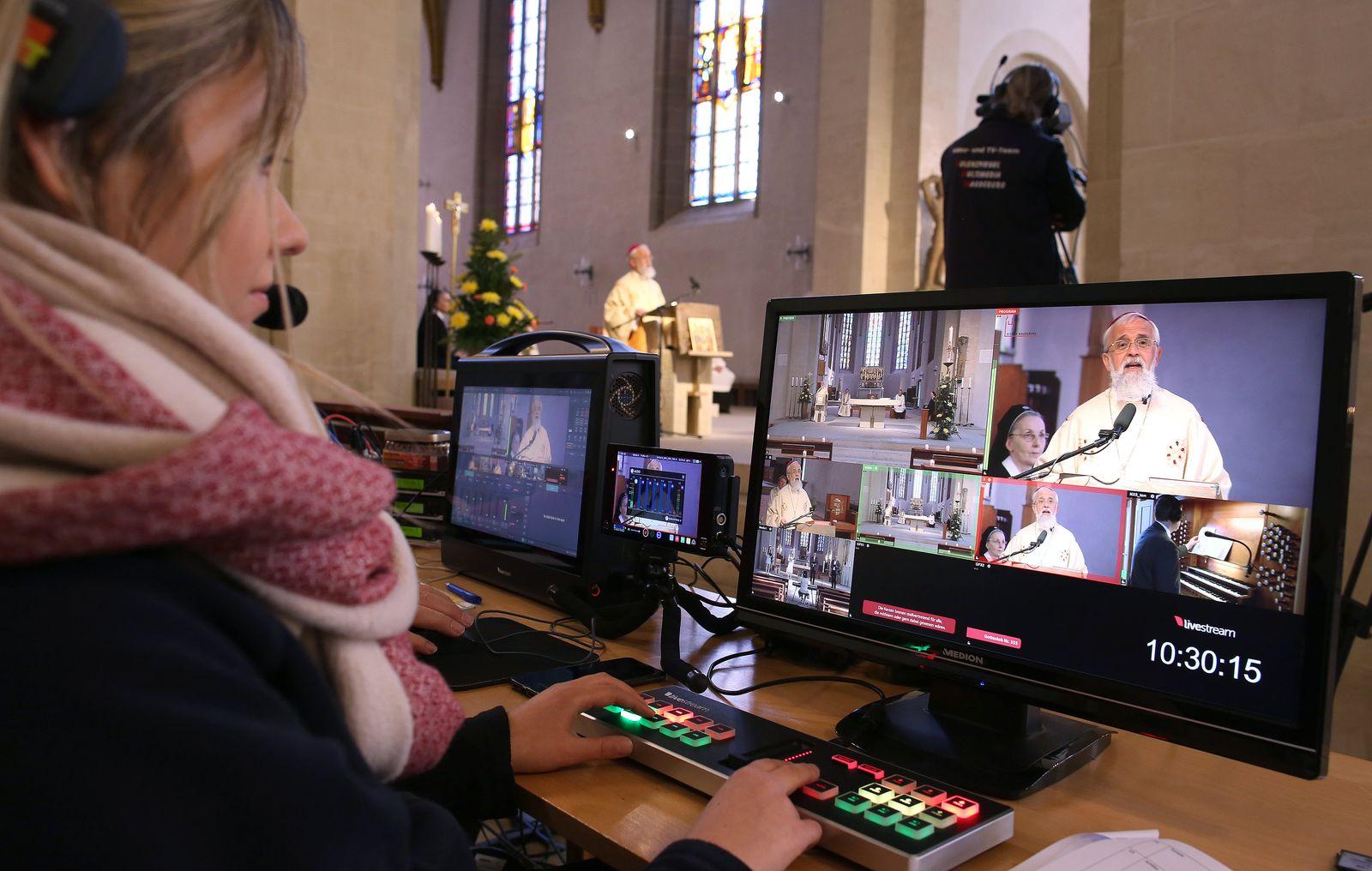 Coronavirus - Online-Gottesdienst in Sachsen-Anhalt