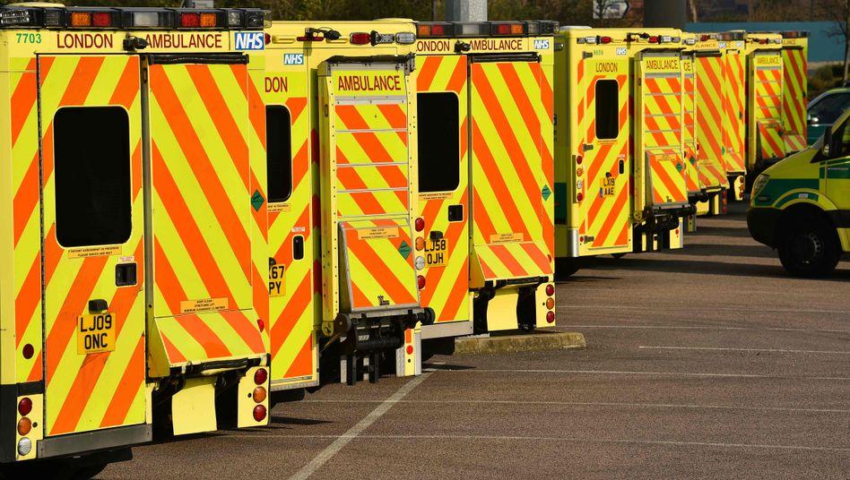 Bei Anruf - Notfall: Ambulanzwagen in London