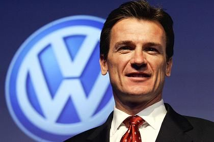 Wolfgang Bernhard has the toughest job at Volkswagen: he's responsible for stopping the haemorrhaging of red ink.