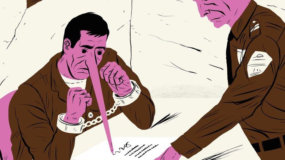 Aktivisten in den USA konnten bislang 343 Fehlurteile aufklären. In jedem vierten Fall hatten die unschuldig Verurteilten ein – demnach falsches – Geständnis abgelegt. Werden Verdächtige im Verhör unter Druck gesetzt, können sie nicht mehr zuverlässig zwischen Realität und Fiktion unterscheiden.