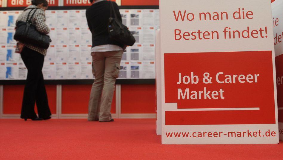 Jobmesse in Hannover: Viele Unternehmen können offene Stellen nicht besetzen