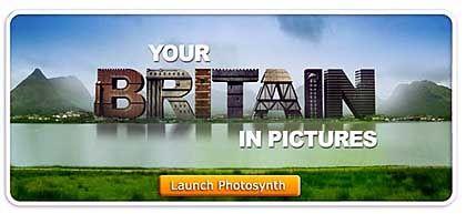 Bald im Netz: Ein aus Nutzer-Bilder zusammengenähte Großbritannien-Panorama