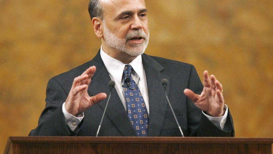 """US-Notenbankchef Bernanke: """"Die Politik muss sehr schwierige Entscheidungen treffen"""""""