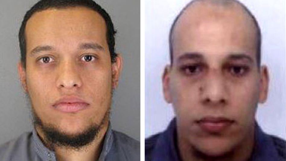 """Brüder Saïd (li.) und Chérif Kouachi: """"Keine schwer erziehbaren Jugendlichen"""""""
