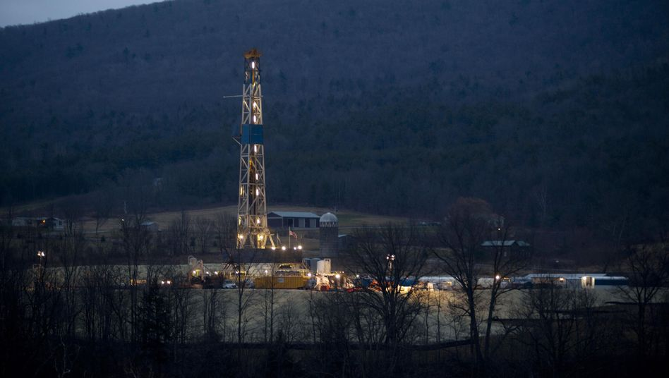 Erdgasförderung in Pennsylvania