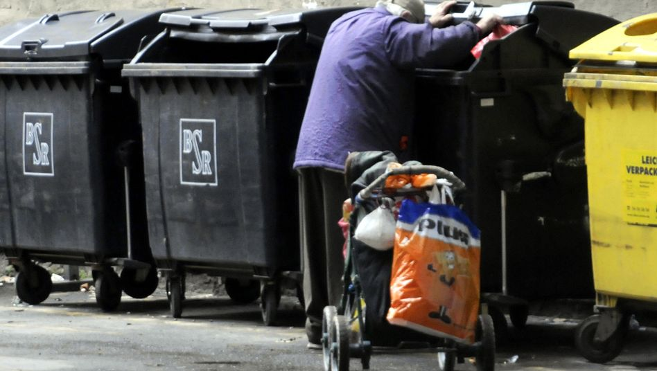 """Müllsammler in Berlin: """"Die wachsende Armut ist für jeden unübersehbar"""""""