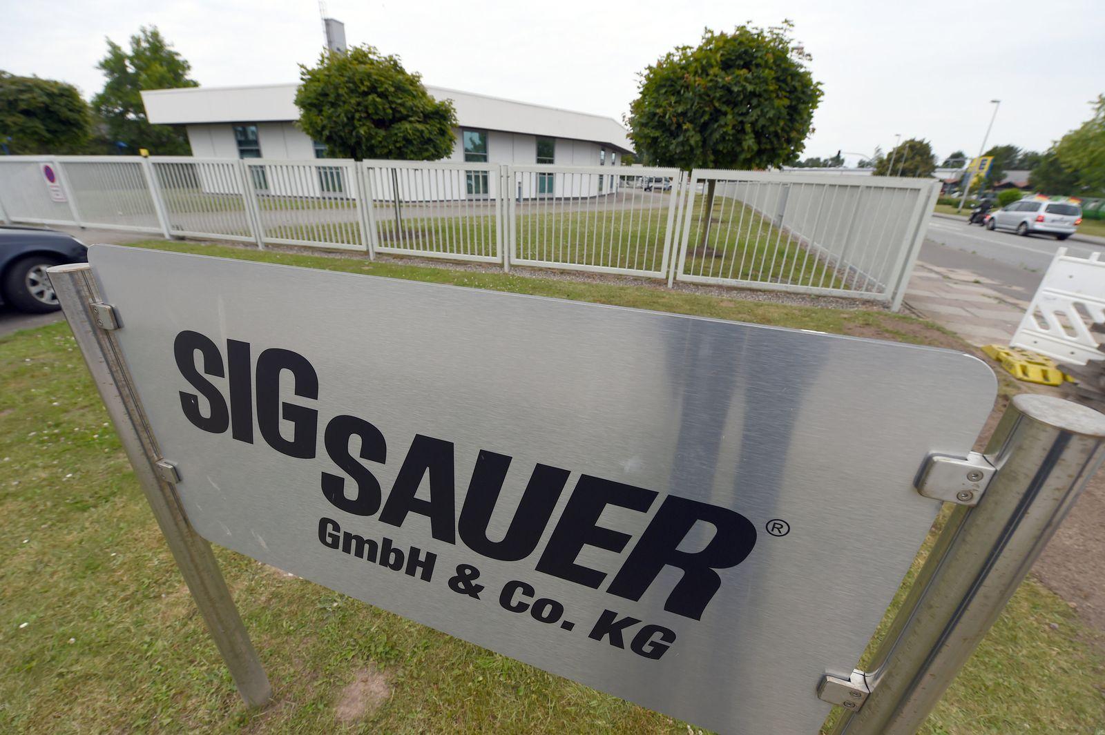 Durchsuchung Waffenfirma Sig Sauer