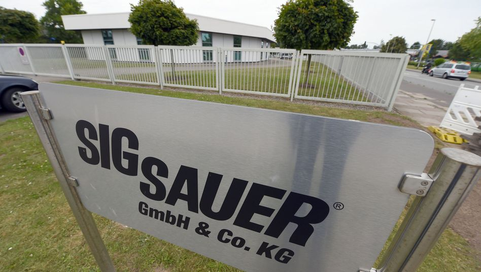 Waffenfirma Sig Sauer in Eckernförde: Durchsuchung bei Eigentümern
