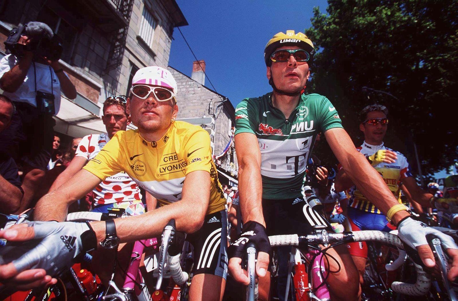 Erik Zabel/ Jan Ullrich/ TDF 1998