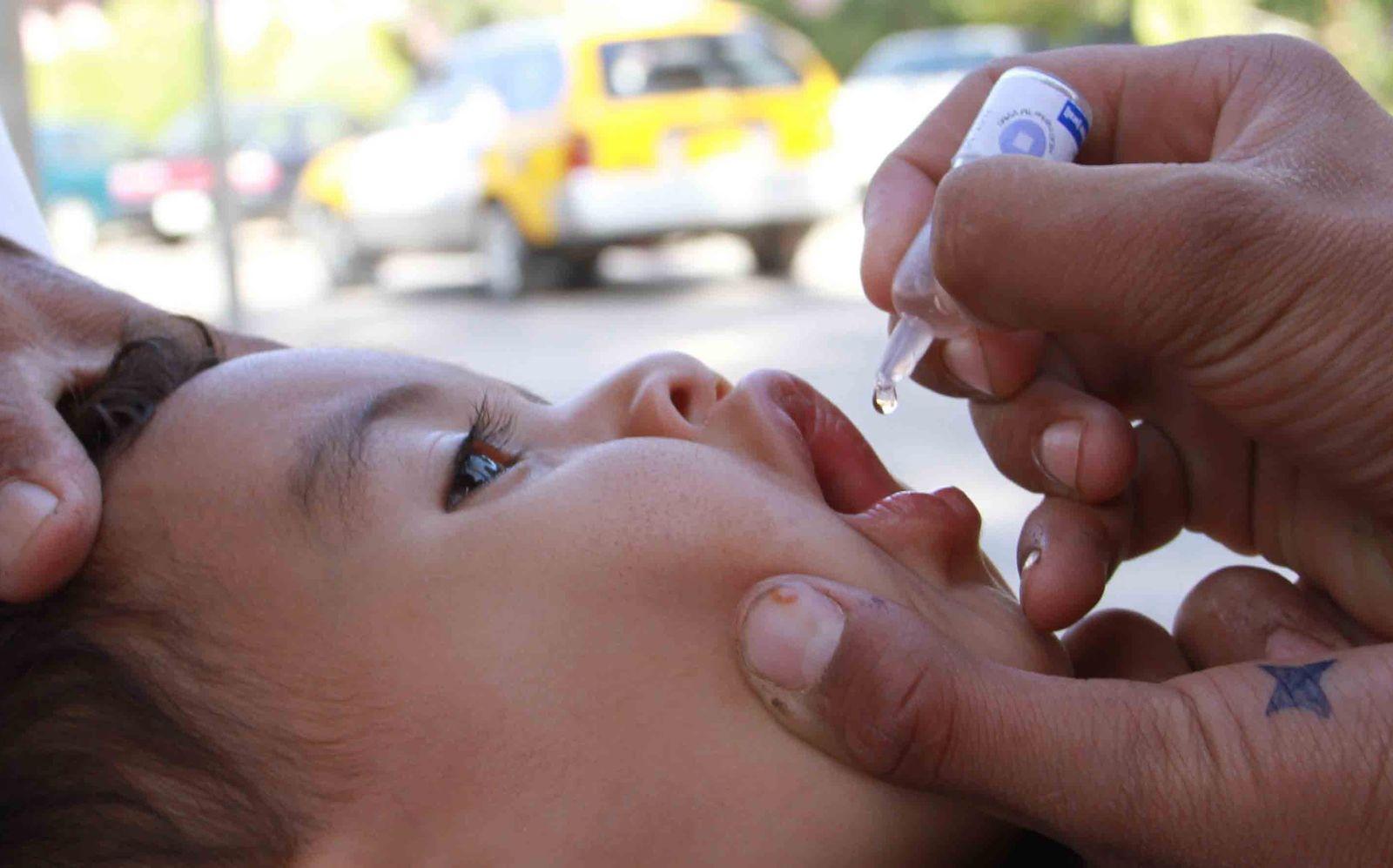 Welt-Poliotag / Polio Impfung / Afghanistan