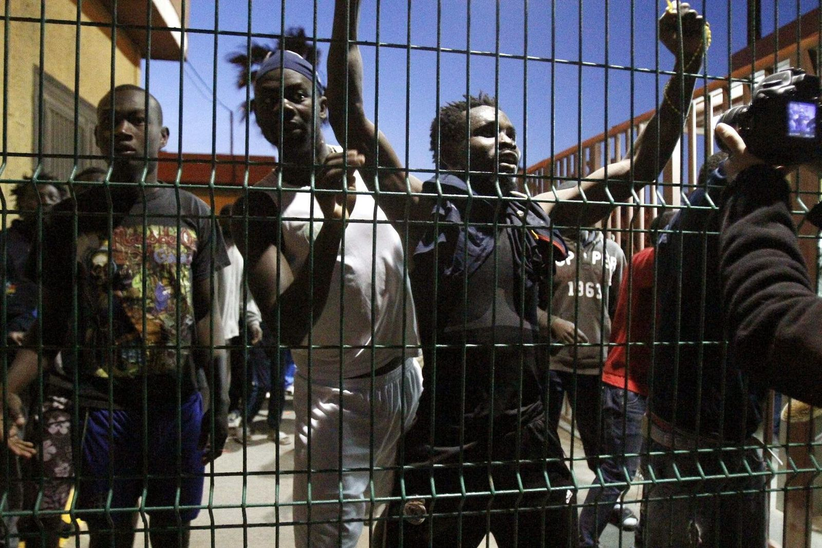 Migrants try to storm Spanish enclave in North Africa