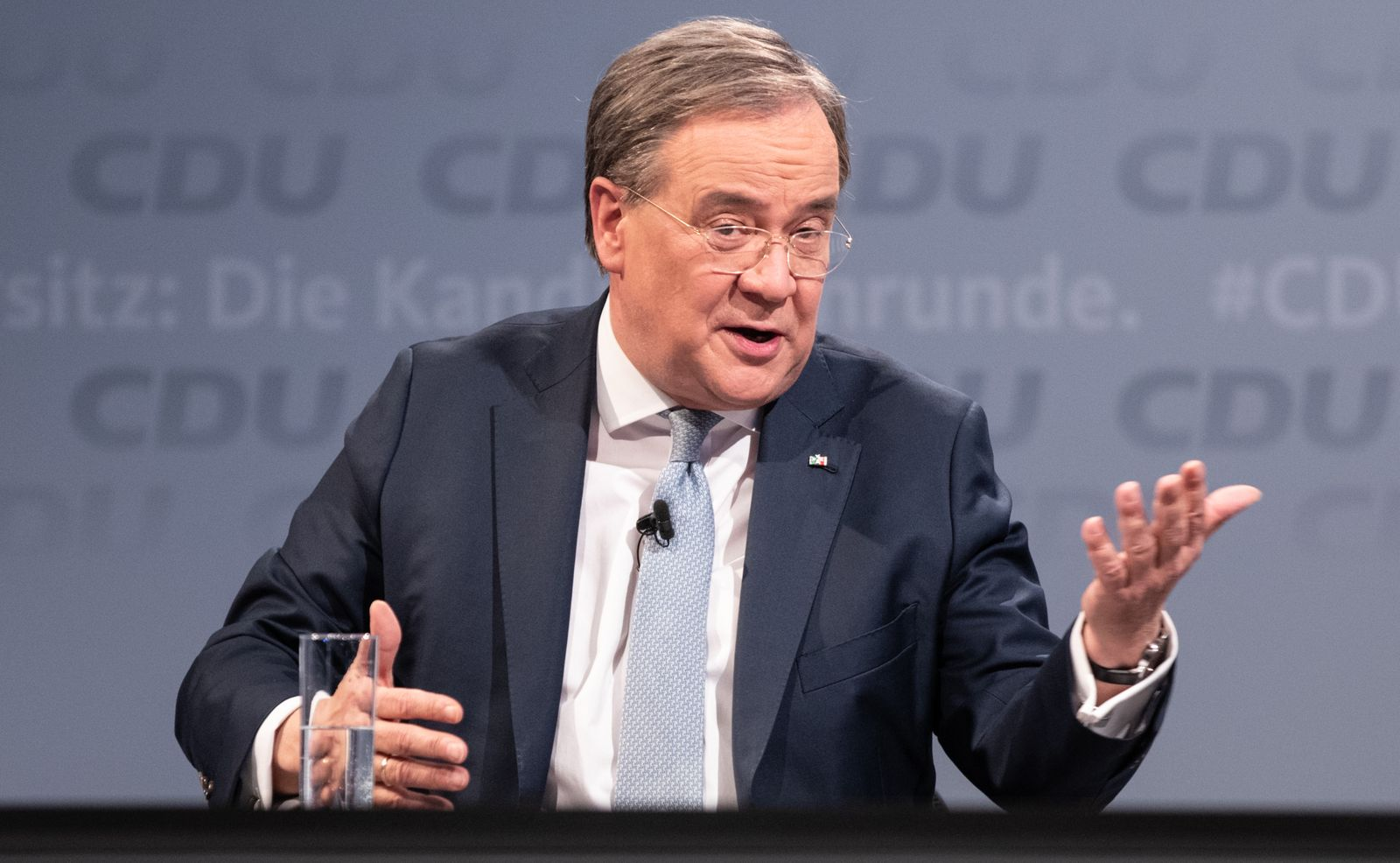 CDU Leadership Candidates Hold Second Debate Round