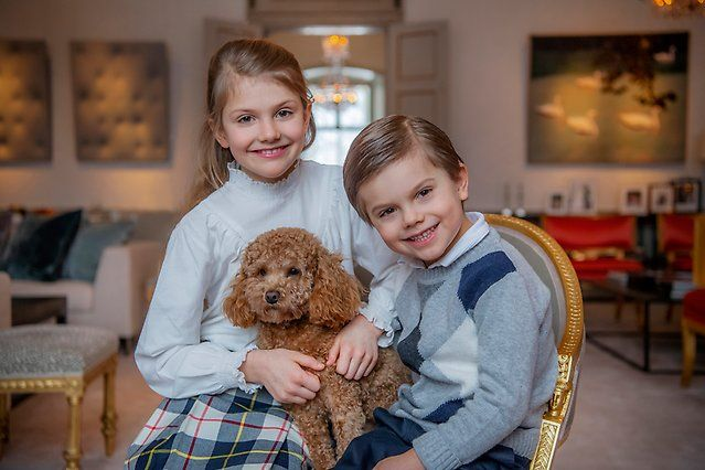 On Tuesday 23 February HRH Princess Estelle celebrates her 9th birthday.