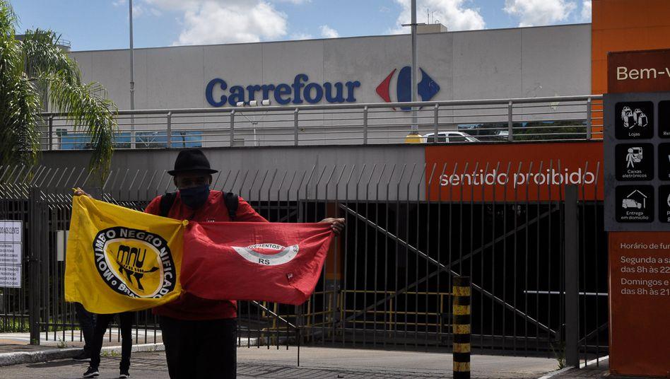 Proteste nach tödlichen Schlägen in Porto Alegre