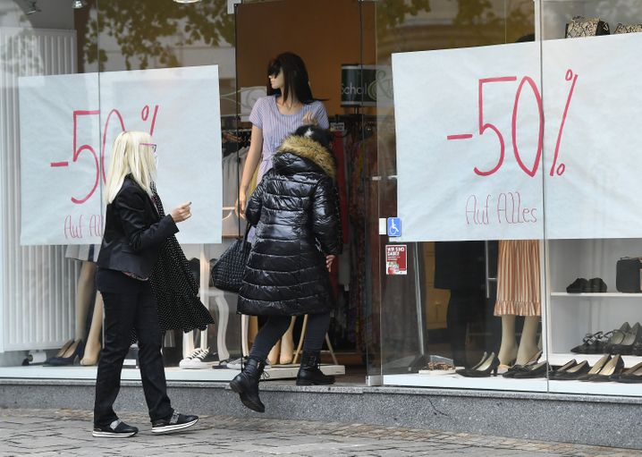 Im Burgenland galt vorübergehend ein härterer Lockdown: Seit vergangener Woche sind dort Geschäfte wieder geöffnet