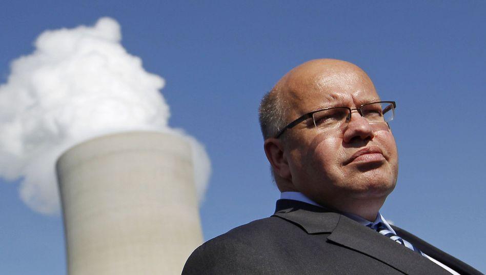 Umweltminister Altmaier (vor Kohlekraftwerk): EEG-Umlage auf über sechs Cent
