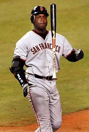 """Barry Bonds von den San Franciso Giants: """"The Cream"""" und """"The Clear"""""""